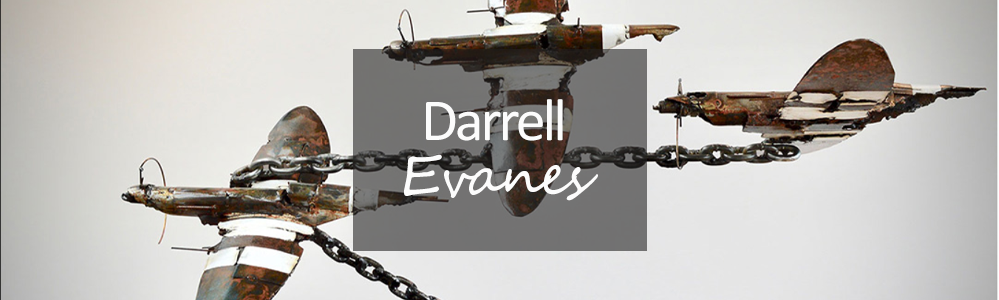 Darrell Evanes Original Sculpture