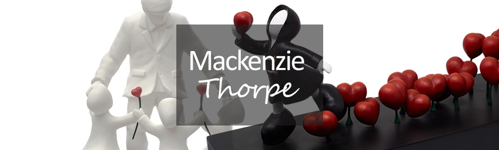 Mackenzie Thorpe Sculptures
