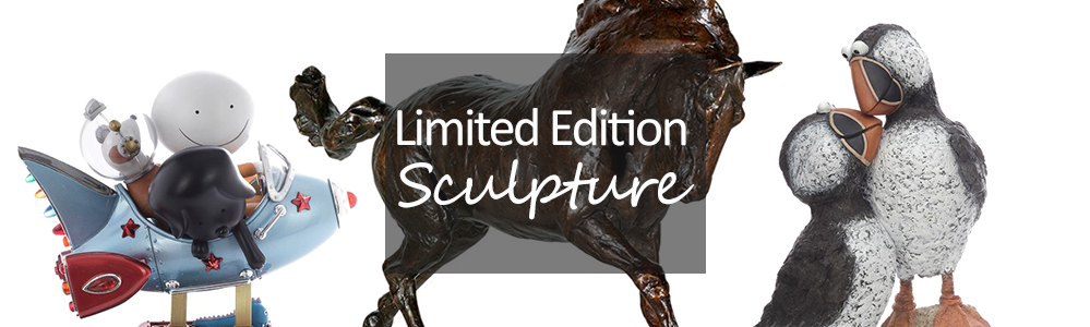 Standing Limited Edition Sculpture